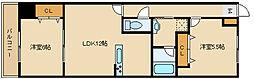 福々邸参番館[7階]の間取り