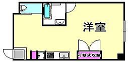 リーストラクチャー南武庫之荘[5階]の間取り