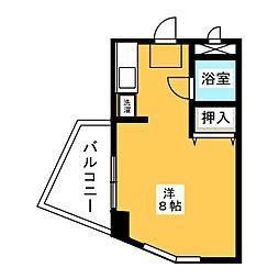 OS・SKYマンションII藤ヶ丘[3階]の間取り