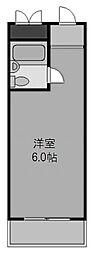 天満橋アバンティ[5階]の間取り
