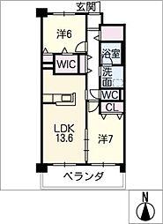 Grantage EAST[1階]の間取り