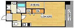 DiasII 鶴見6丁目新築[1003号室号室]の間取り