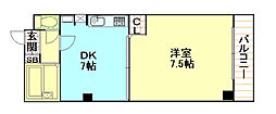 三和マンション[2階]の間取り