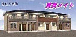 三重県四日市市東富田町の賃貸アパートの外観