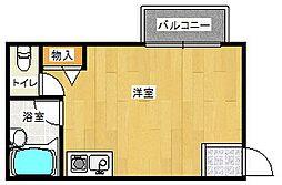 ハイツ和らぎ[2階]の間取り