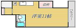 ベルグリーン錦糸町[3階]の間取り