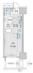 東京メトロ千代田線 新御茶ノ水駅 徒歩1分の賃貸マンション 8階1Kの間取り