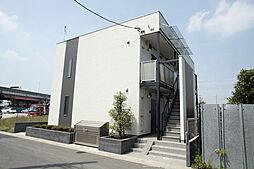埼玉県八潮市大原の賃貸アパートの外観