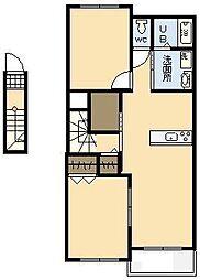 (新築)フィデールユーIII[2階]の間取り