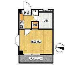 第二サンコート東戸塚[304号室]の間取り