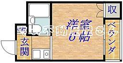 ビル ド シャナ[3階]の間取り