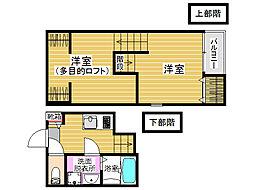 YMW[1階]の間取り