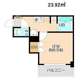 リバーサイドマンション青山[3階]の間取り
