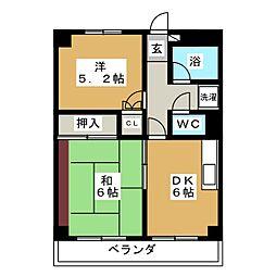SESビル[3階]の間取り