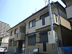 大阪府吹田市新芦屋下の賃貸アパートの外観