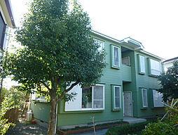 神奈川県伊勢原市白根の賃貸アパートの外観