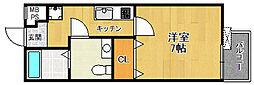 MOFREあまがさき弐番館[2階]の間取り