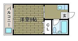 アップルハウス町田2[3階]の間取り