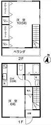 [一戸建] 東京都板橋区坂下3丁目 の賃貸【/】の間取り