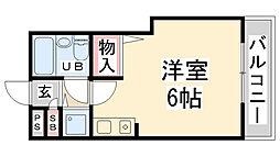 RIO花屋敷I[205号室]の間取り