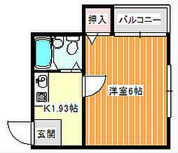 シェーネヴェレ[2階]の間取り