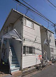 埼玉県朝霞市溝沼7丁目の賃貸アパートの外観