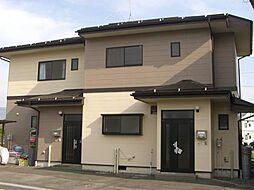 長野県長野市篠ノ井布施高田の賃貸アパートの外観