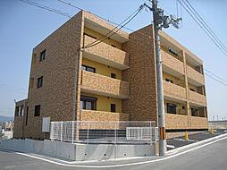 京都府木津川市城山台10丁目の賃貸マンションの外観