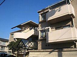 岡山県岡山市北区津島新野2丁目の賃貸マンションの外観