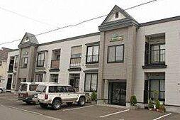 北海道札幌市東区北四十四条東4丁目の賃貸アパートの外観