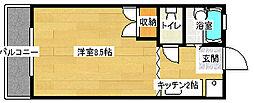 ABODE21[305号室]の間取り