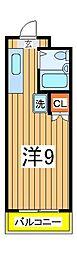 大塚ビル[203号室]の間取り