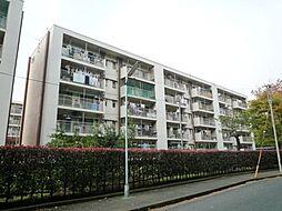 久米川駅東住宅25号棟[304号室]の外観
