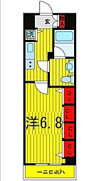 Log浅草[13階]の間取り