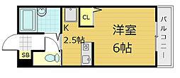 ハイメディア21[3階]の間取り
