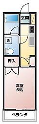 第2コーポタナカ[206号室]の外観
