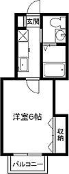 ピカピカ新築、マメゾンN[3階]の間取り