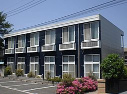 千葉県柏市弥生町の賃貸アパートの外観