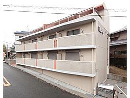 大阪府豊中市刀根山の賃貸マンションの外観