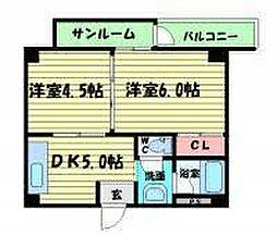 EPO新町メゾン[406号室]の間取り