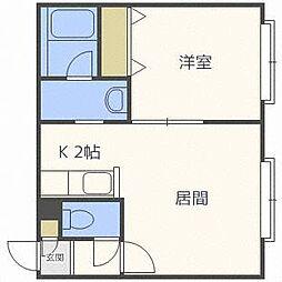フォレストN520[2階]の間取り