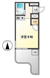 SIMON茶屋ヶ坂[4階]の間取り
