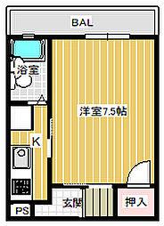 NONNOビル[302号室号室]の間取り