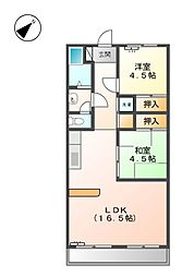 第2前田ビル[4階]の間取り
