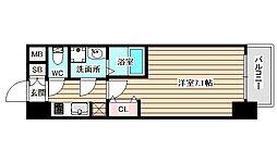 W-STYLE福島2ウィステリア[7階]の間取り