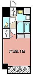 アピアランス南小倉[603号室]の間取り