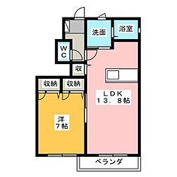 pasania385[1階]の間取り