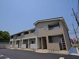 奈良県奈良市西九条町3丁目の賃貸アパートの外観