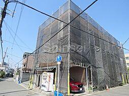 大阪府堺市堺区西永山園の賃貸マンションの外観