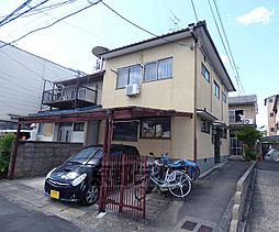 京都府京都市北区大宮西総門口町の賃貸アパートの外観
